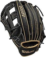 Wilson A2000 12.75-Inch SuperSkin Baseball Glove, Blonde/Black, Right (Left Hand Throw)