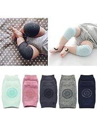 Unisex Baby Anti-slip Kneepads, Toddler Knee Elbow Pads...