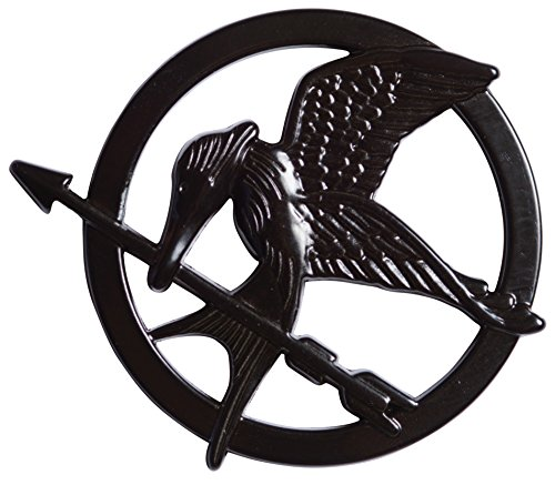 Rubie's Women's The Hunger Games Mockingjay Part 1 Pin, Multi, One - Games Women Hunger Costume