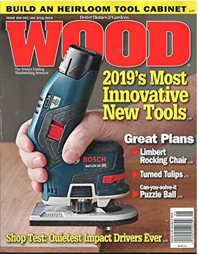 Better Homes Gardens Wood Magazine - Better Homes & Gardens Wood Magazine December 2018 January 2019