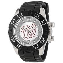 Game Time Men's MLB-BEA-WAS Beast Washington Nationals Round Analog Watch