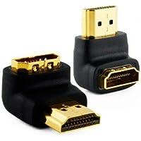 ADAPT.HDMI M X HDMI F 90 GRAUS FIXO