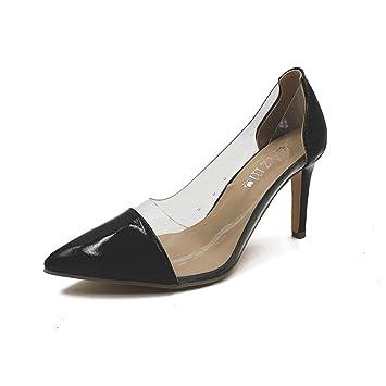 Mlgsdw Hembra Sharp Zapatos De Tacón Alto Shallow10cm Thin