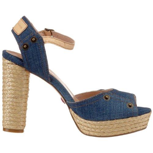 Fornarina - Sandalias para mujer Azul