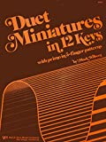 img - for WP94 - Duet Miniatures in 12 Keys - Wilberg book / textbook / text book