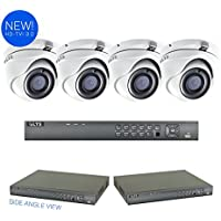LTS 8-Channel Surveillance Kit with (4) x 3 MegaPixel HD-TVI 3.0 Cameras and 2TB HDD Included