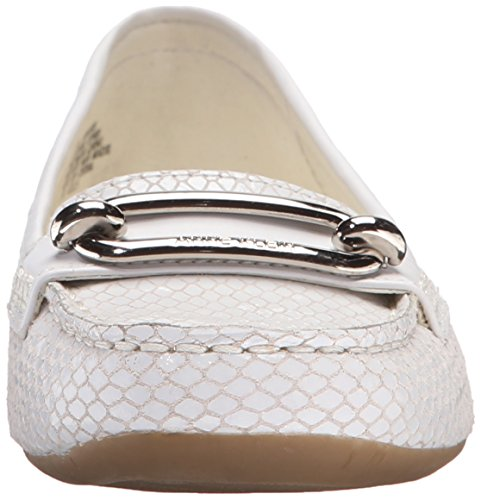 Anne Klein Women's Noris Loafer White browse cheap price discount visit new NxHYIR0oS