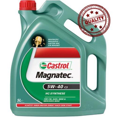Castrol MAGNATEC DIESEL Aceite de Motores 10W-40 DPF A3/B4 5L (Sello alemán)