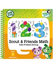 Leapstart Nursery: Scout & Friends Maths Activity Book (3D Enhanced)
