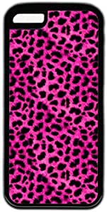 Red Leopard Pattern Theme Iphone 5C Case