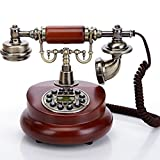 TelPal Classic Vintage Desktop Wired Office Telephone of 1950 Old Fashioned Antique Style Home Phone