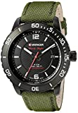 Wenger Men's 01.0851.125 Roadster Analog Display Swiss Quartz Green Watch