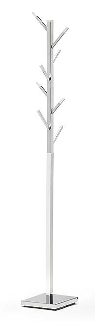 perchero de pie moderno color blanco