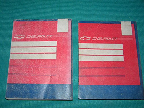 1992 Chevrolet Lumina Service Manual Books 1 and 2: Book 1 Includes All Except Driveability and Emissions (6E) Electrical Diagnosis (8A) Book 2 Includes Driveability and Emissions (6E) Electrical Diagnosis (8A)