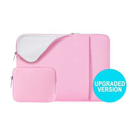 7a2200f52695 RAINYEAR 14 Inch Laptop Sleeve Soft Lining Case Pocket Cover Carrying Bag  with Accessories Pouch,Compatible 14