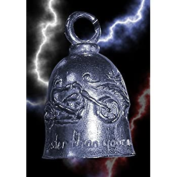 Motorcycle Ride Guardian Bell Never Ride Faster Than Your Guardian Angel Can Fly
