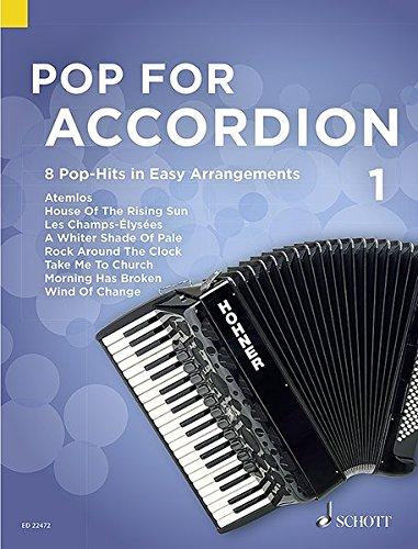 Pop For Accordion Volume 1 (Allemand) Partition – 1 janvier 2016 Compilation Schott 379570944X Musikalien