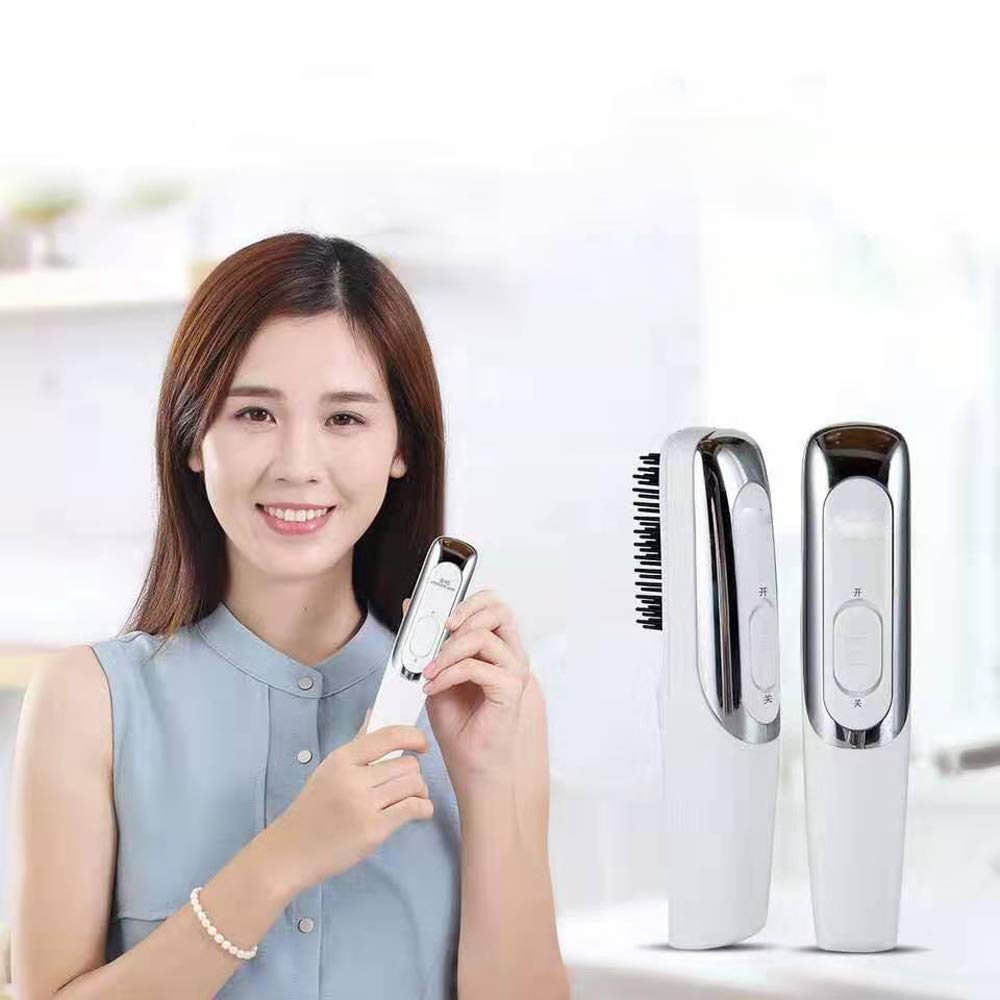 Hair Growth Comb Electric, Wisfun Red Light Scalp Massager Comb for Hair Growth, Stimulate Hair Follicle Stress Relax for Anti Hair Loss