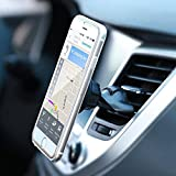 CD Slot Phone Mount, Universal Air Vent / CD Slot Magnetic Cradle-less Smartphone Car Mount Holder for all iPhone and Android Devices