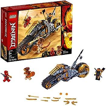 LEGO NINJAGO Cole's Dirt Bike 70672 Building Kit, New 2019 (212 Pieces)