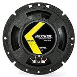 2) Kicker 43DSC6704 D-Series 6.75'' 240W 2-Way 4-Ohm Car Audio Coaxial Speakers