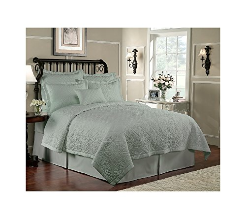 Waterford Lismore Quilt Sage Euro Sham