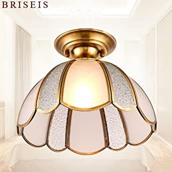 Yposion Continental Cu All Led Living Room Lighting Continental Copper Ceiling Light Bedroom