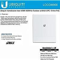Ubiquiti locoM9 NanoStation loco M900 900MHz Indoor Outdoor airMAX CPE 10+km PoE