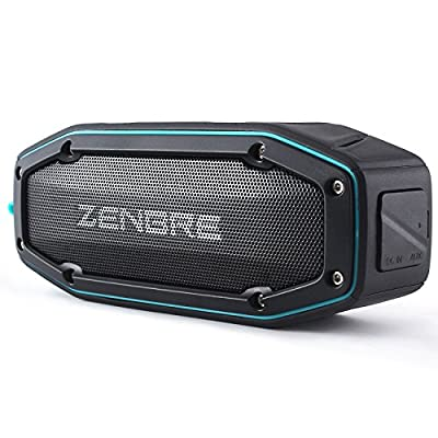 Portable Speakers, ZENBRE D3 mini Wireless Bluetooth Speaker with 20 Hours Play Time, Power Bank and Support Tfcard