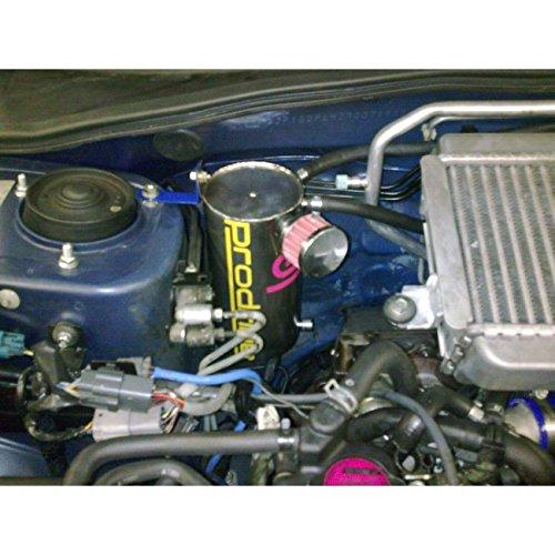 Universal Motor de acero redondo Racing Depósito de aceite Catch Can tanque depósito de aceite - Speedpro: Amazon.es: Coche y moto