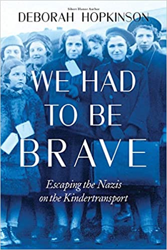 Image result for we had to be brave escaping the nazis on the kindertransport