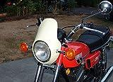 Kawasaki/Honda/Yamaha/Suzuki RD350 RD400 CB350F CB400F CB360 Universal Cafe Racer Headlight Fairing/Flyscreen/Windscreen 7