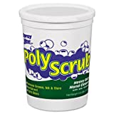 Spray Nine POLY SCRUB Heavy-Duty Hand Cleaner, 3.8 lb Tub, Lemon-Lime Scent - Includes six tubs.