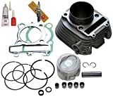 YAMAHA TIMBERWOLF 250 CYLINDER PISTON GASKET TOP END KIT SET 1992 1993 1994 1995 1996 1997 1998 1999 2000