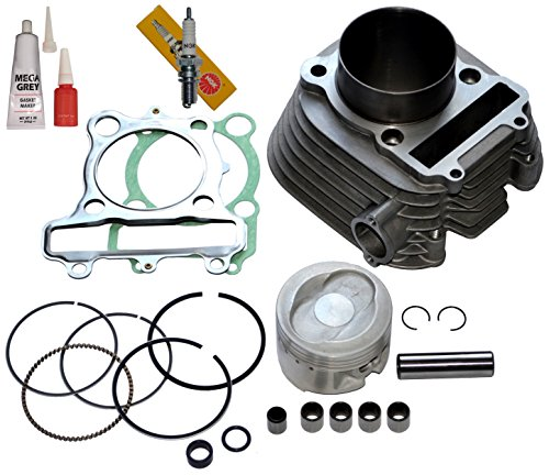 YAMAHA MOTO-4 250 YFM250 CYLINDER PISTON GASKET TOP END KIT 1989 1990 (1990 4 Cylinder)