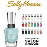 Lot of 10 Sally Hansen Salon Manicure Finger Nail Polish Color Lacquer All Different Colors No Repeats
