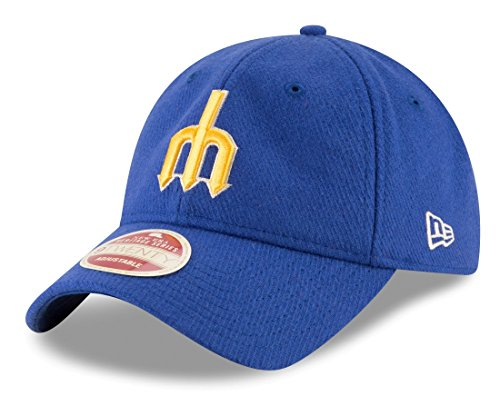New Era Seattle Mariners MLB 9Twenty Cooperstown Team Front Adjustable Hat