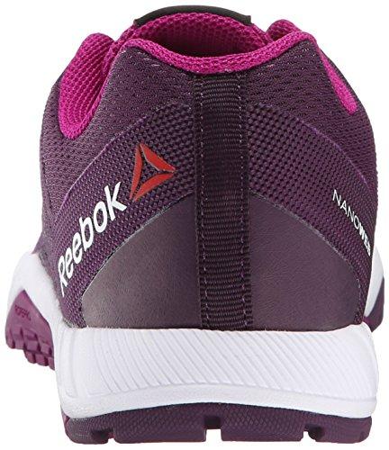 Reebok Women's ROS Workout TR Training Shoe Royal Orchid/Fierce Fuchsia N7knafs