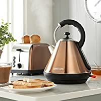 Brand New Goodmans Copper Kettle & Toaster Breakfast Set