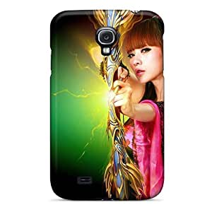 Anti-scratch And Shatterproof Gorgeous Archer Girl Phone Case For Galaxy S4/ High Quality Tpu Case