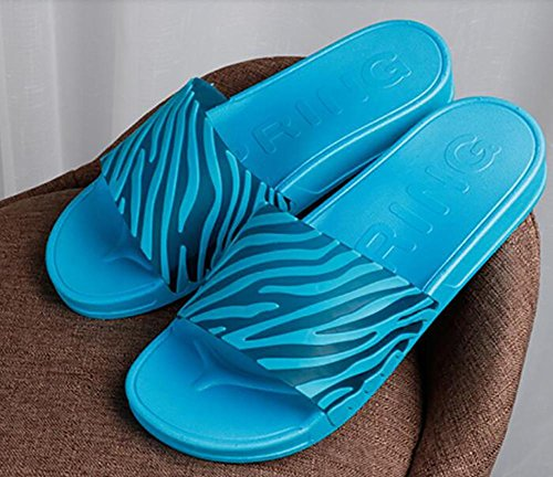 stripes home shoes cool drag new couple sand the 41 3 Summer comfortable leisure daily on simple slippers word SEZxnqI