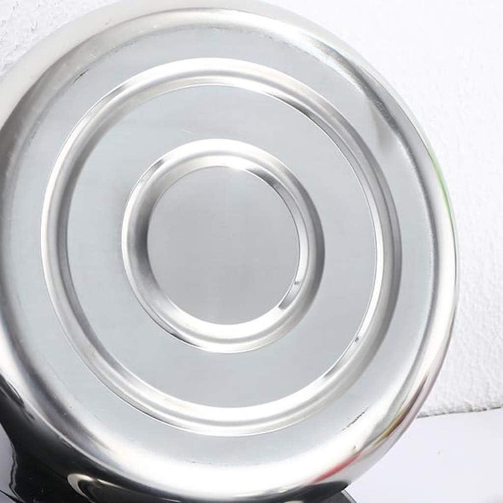 FYJK Casa Senza Fili della Luce dell'Acciaio Inossidabile Caldaia di fischio Peso con Tradizionale Retro Becco/per Hob o Stufa Top,10l(standard9.8l) 7l