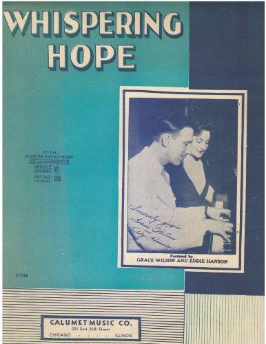 Whispering Hope with Hawaiian Guitar Chords