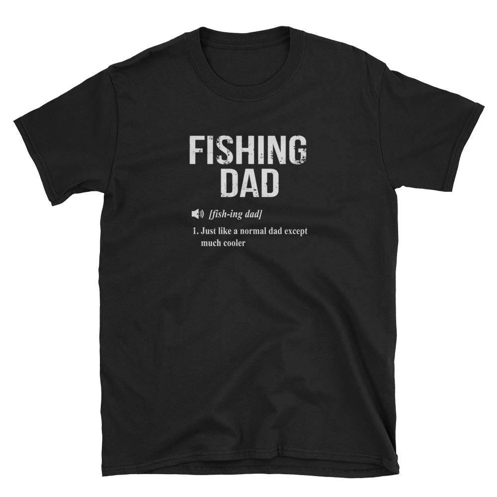 SkyTeeDesigns Fishing Dad Shirt Fishing Dad Gift Only Cooler Dictionary Definition