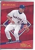 ALEX RODRIGUEZ 2002 Donruss Super Estrellas Posters De Jugadores Mini Poster Texas Rangers Baseball
