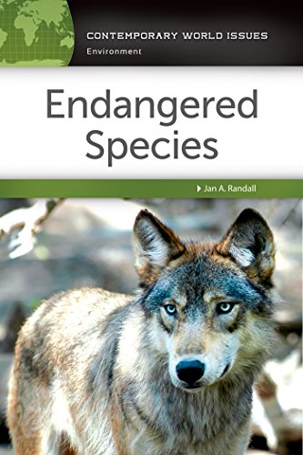Endangered Species: A Reference Handbook (Contemporary World Issues)