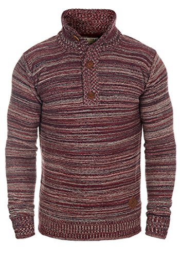 Droit solid over Madden Pull Pull Bordeaux Col Coton Homme 100 HxvSHnwr