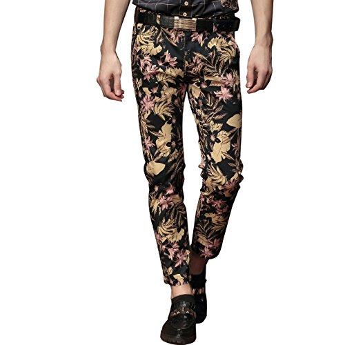 [FANZHUAN Trousers For Men Straight Fit Dress Pants For Men Pants Skinny Fit Men] (Mens Disco Jumpsuit)