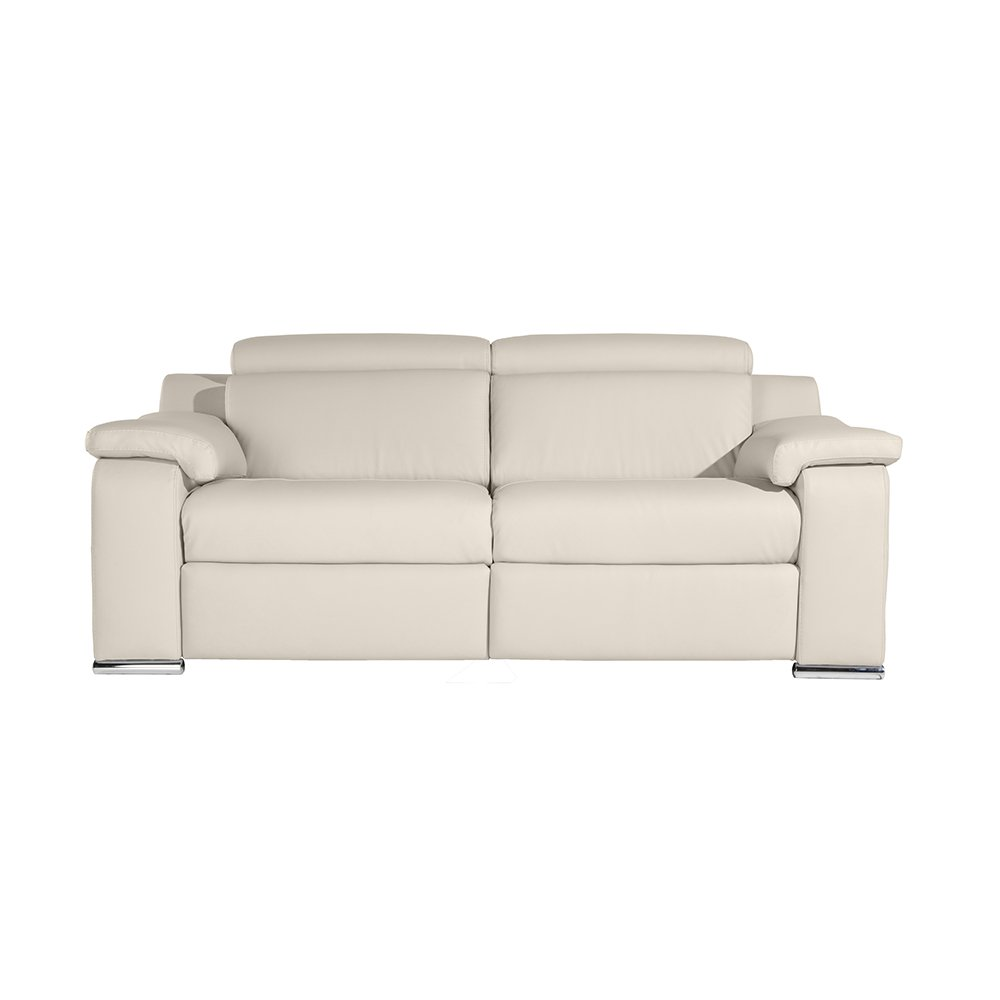 Zendo Sofas Bolero sofá de 3 plazas 2 Relax calme-TOI, Piel ...