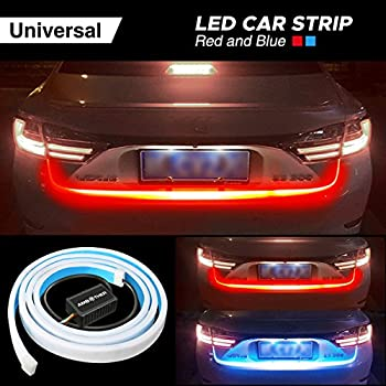 Amazon ambother car tailgate strip light universal led brake ambother car tailgate strip light universal led brake reverse rear turn signal running flowing emergency aloadofball Image collections